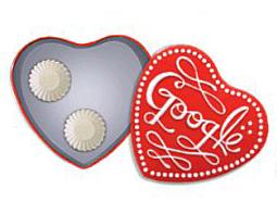 Google regala chocolates virtuales con el 'doodle' de San Valentín.